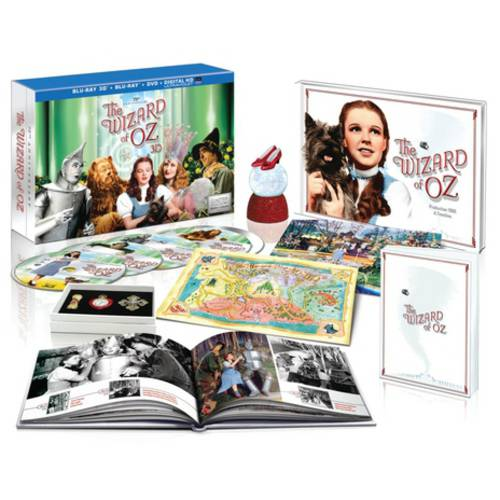 The Wizard Of Oz: 75th Anniversary Collector's Edition (3D Blu-ray + Blu-ray + DVD + Digital HD) (With INSTAWATCH) (Widescreen)