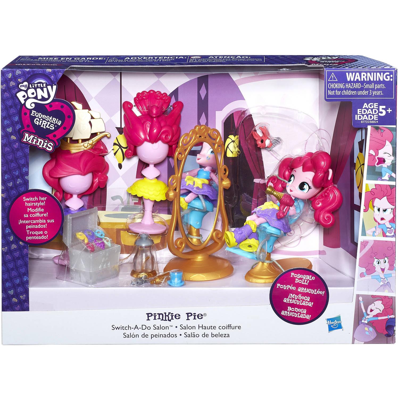 My Little Pony Equestria Girls Minis Pinkie Pie Switch A Do Salon Set