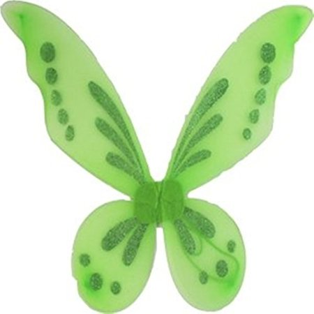 Lime Pixie Fairy Wings Tinkerbell Princess Tutu Dress up Costume
