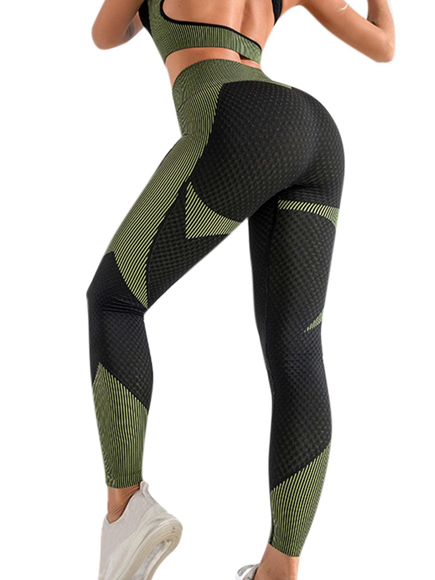Women PUSH UP Fitness Gym Trousers Jogging High Waist Yoga Leggings Pants Sports