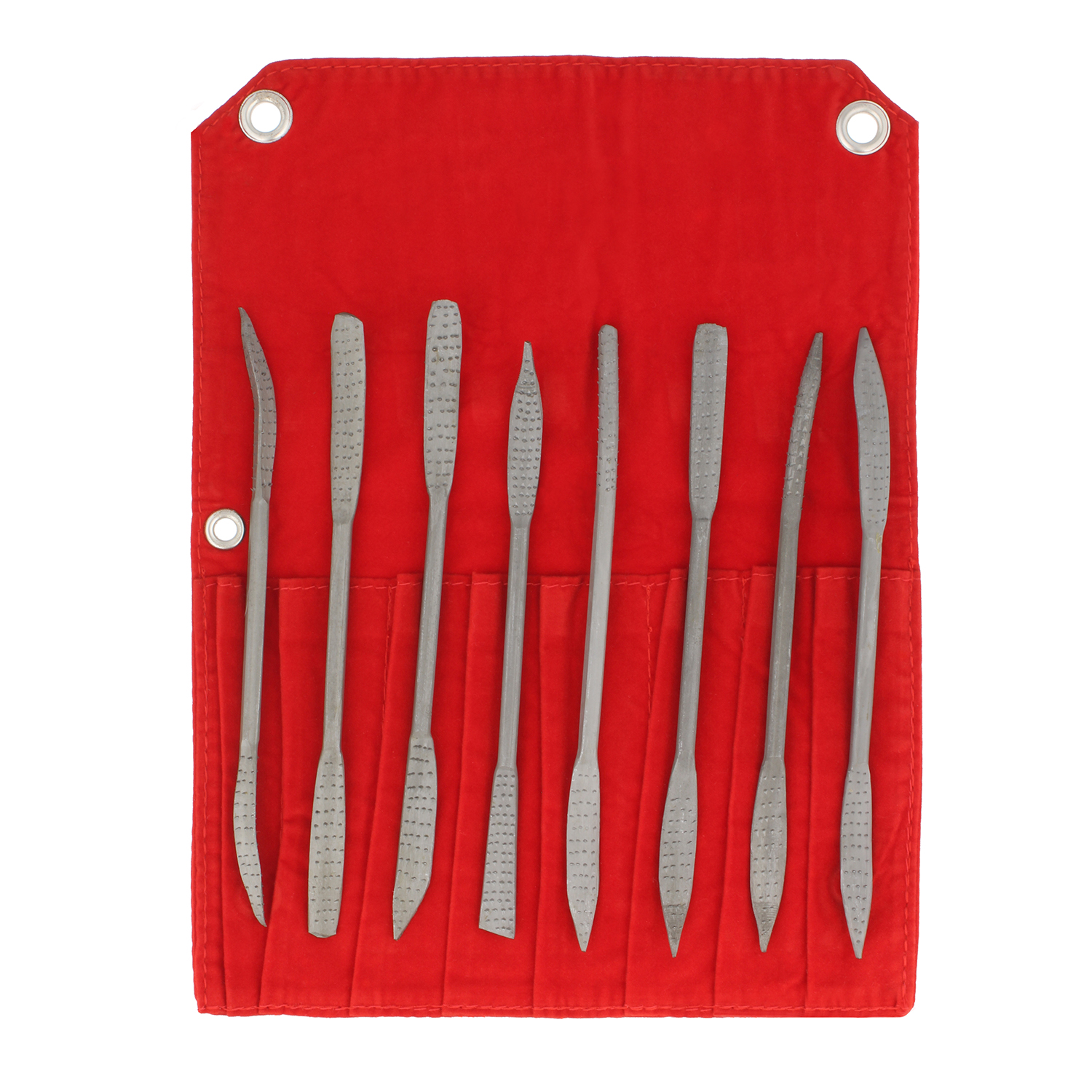 DCT Riffler File Riffler Rasp 8pc Set for Wood & Metal Sculpting Shaping Filing by Deadwood Crafted Tools