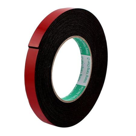 15mmx2mm Double Sided Sponge Tape Adhesive Sticker Foam Glue Strip Sealing - Glue Tape