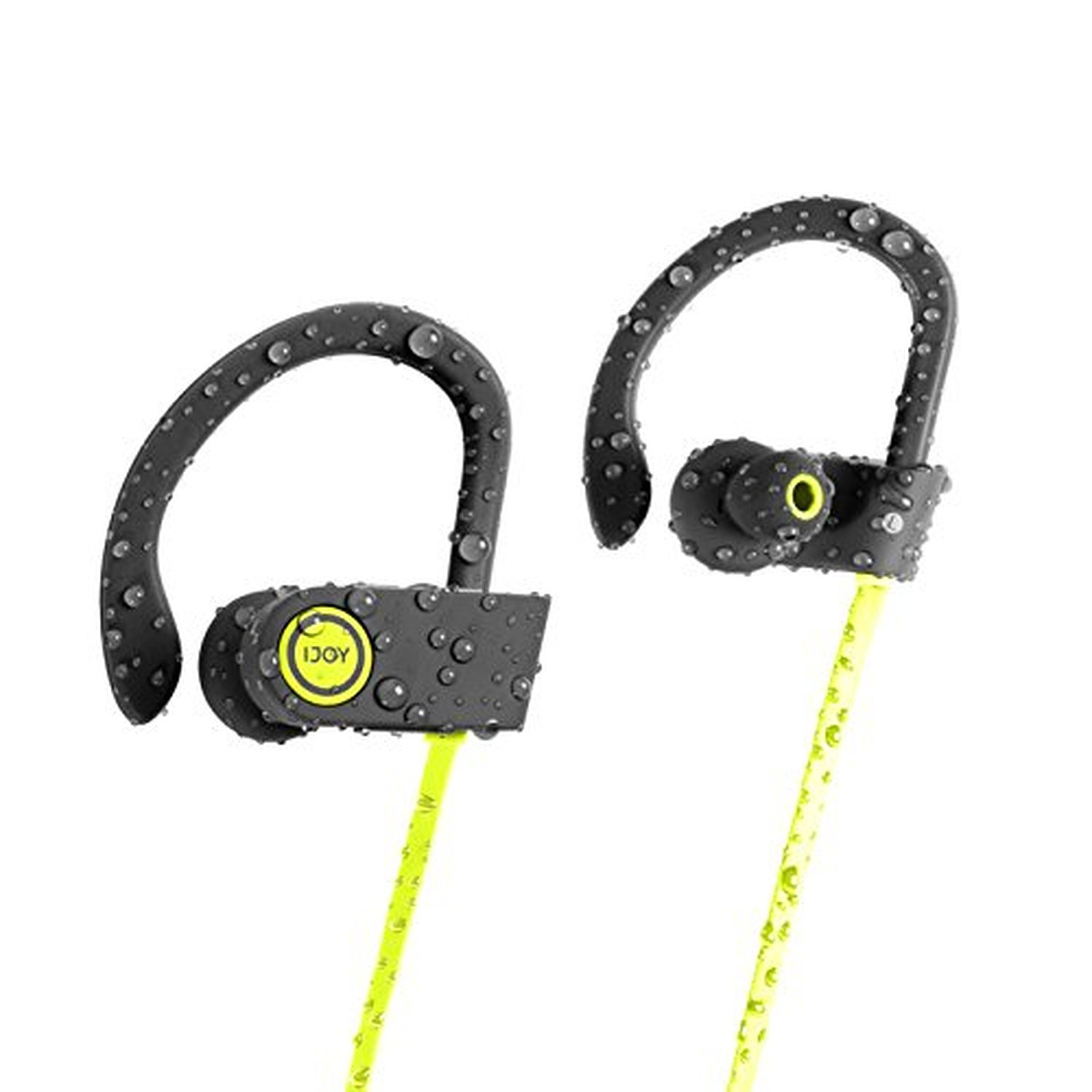 newest cd4f9 dfecb iJoy FS IPX7 Premium Sport Bluetooth Waterproof Earbuds with Noise  Cancellation Technology