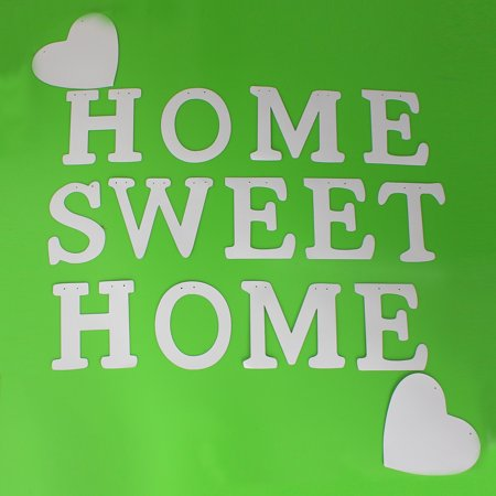 """Vintage """"Home Sweet Home"""" Wedding Banner Party Decor Bunting Photo Booth Props - image 9 of 10"""