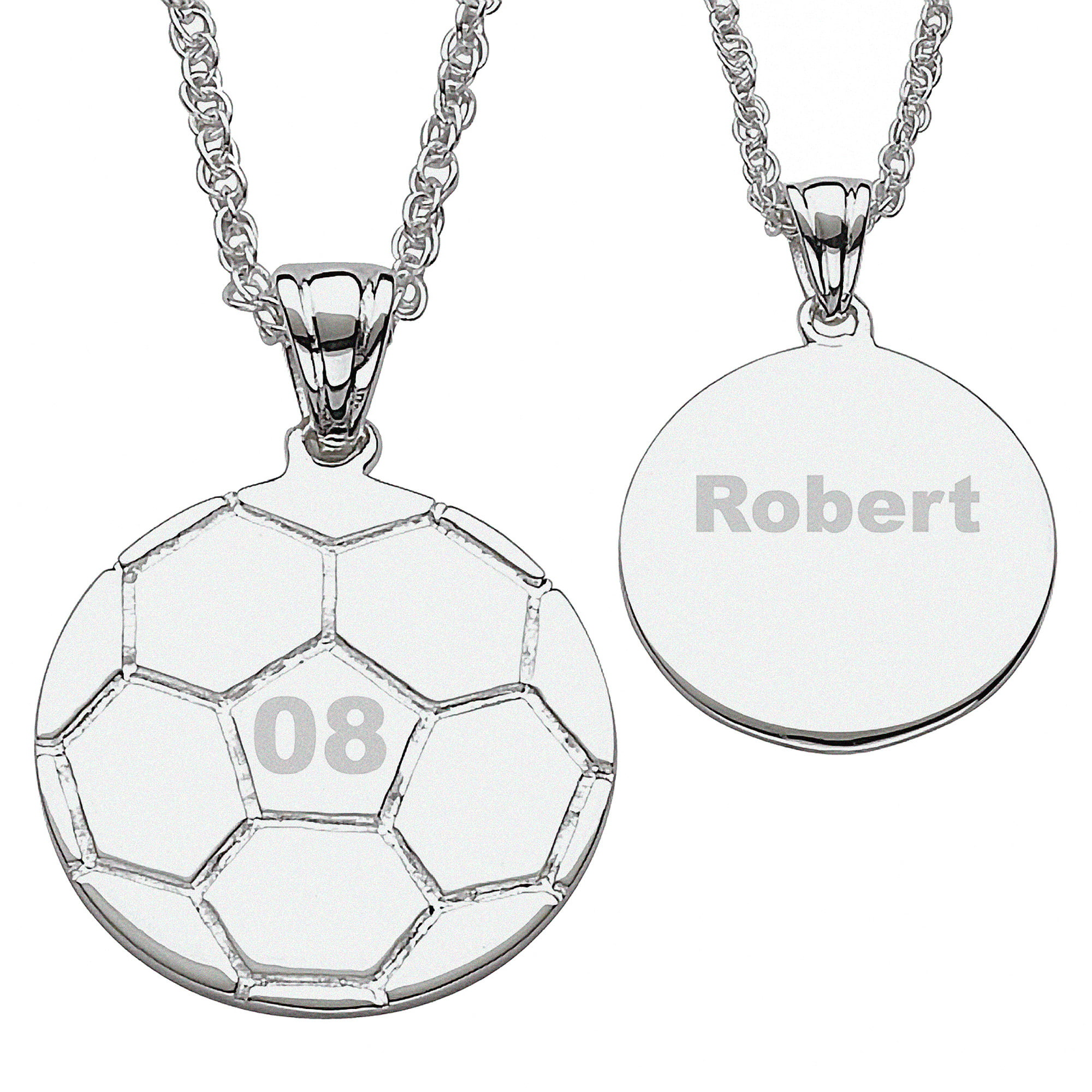 moments sterling diamond t soccer pin charming necklace w pendant carat silver girl