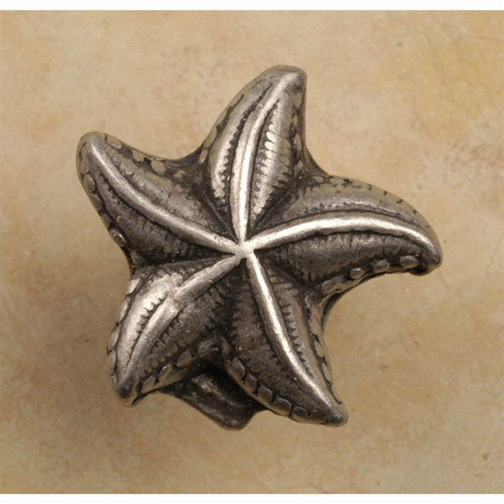 Starfish knob (Set of 10) (Antique Bronze)