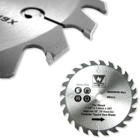 "10"" X 60 Tooth Carbide Tip Circular Saw Blades Wood Carpentry 5/8"" Arbor"