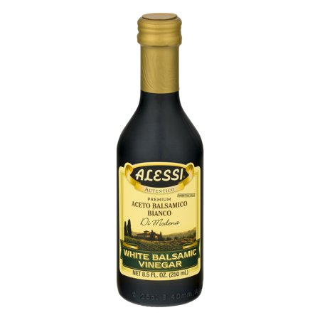 (Alessi Premium White Balsamic Vinegar, 8.5 fl oz)