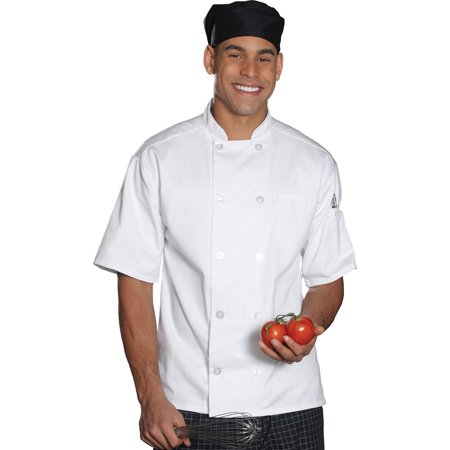 Edwards 3306 Casual Short Chef Coat (Chefs Coat)