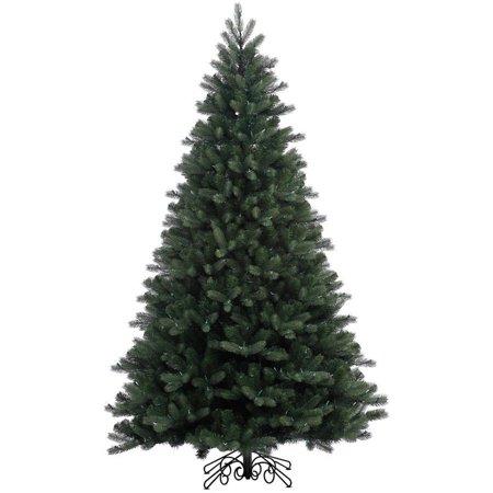 Vickerman Unlit 7.5' Noble Spruce Artificial Christmas Tree, - Noble Christmas Tree