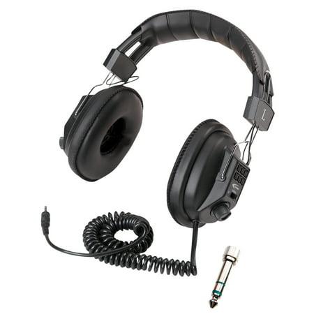 Califone 029009 Switchable Volume Control Stereo & Mono Headphone