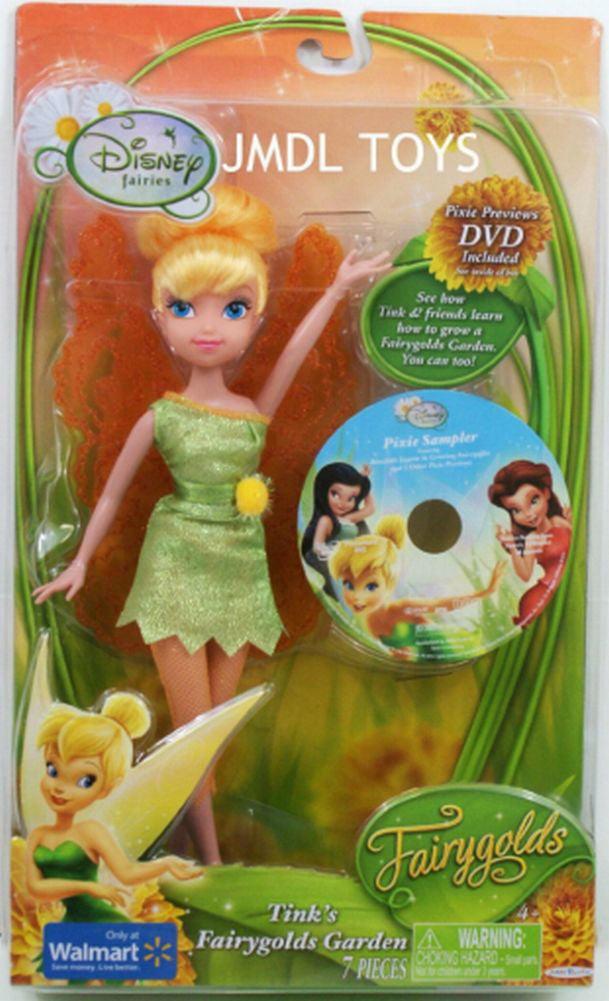 Disney Fairies Tinkerbell Doll Fairy Golds Garden Tink Fairy Doll Fairygold by