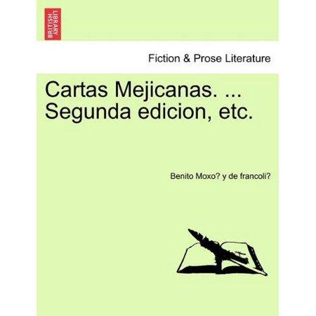Cartas Mejicanas. ... Segunda Edicion, Etc. - image 1 of 1