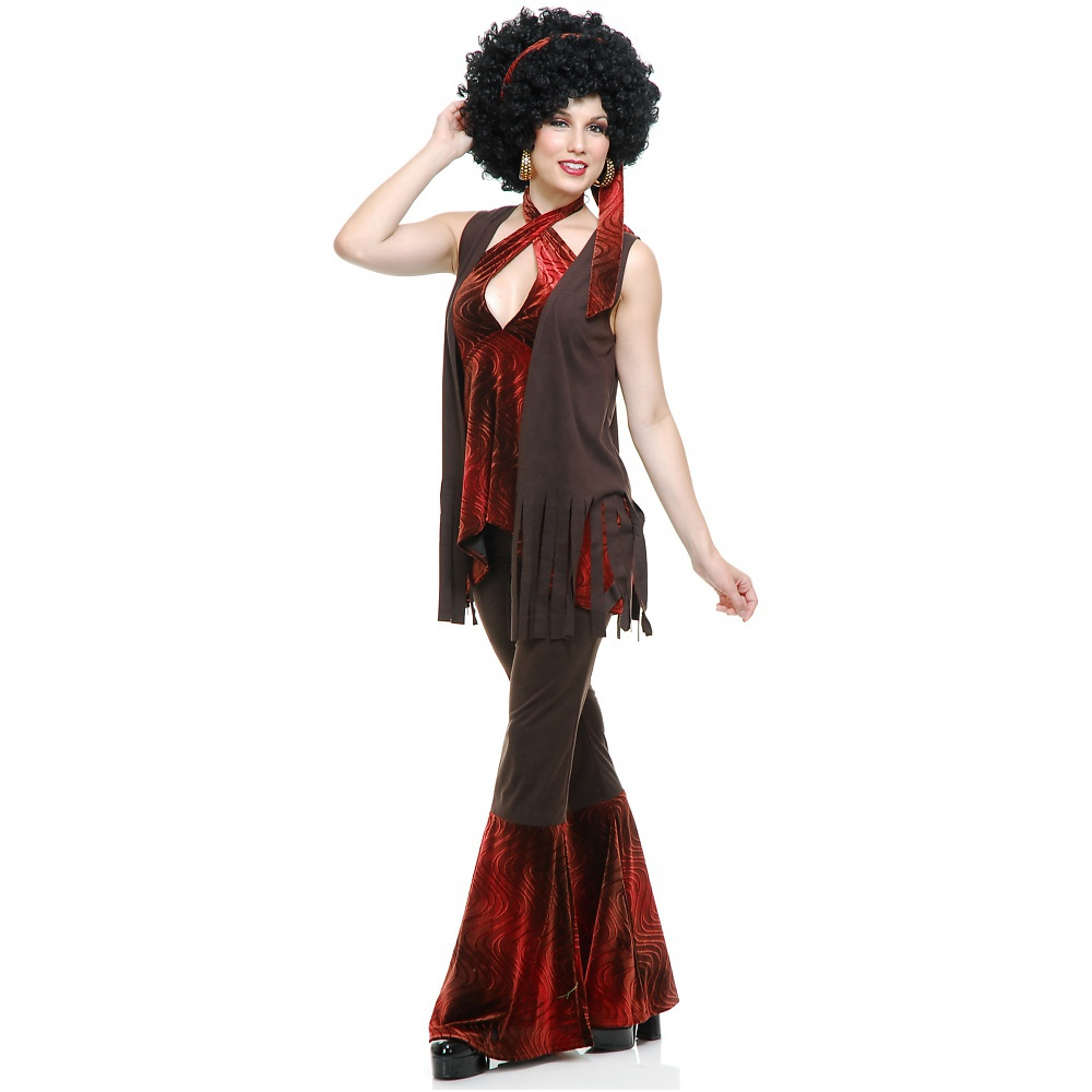 Charades Costumes San Francisco Hippie Adult Costume - Large