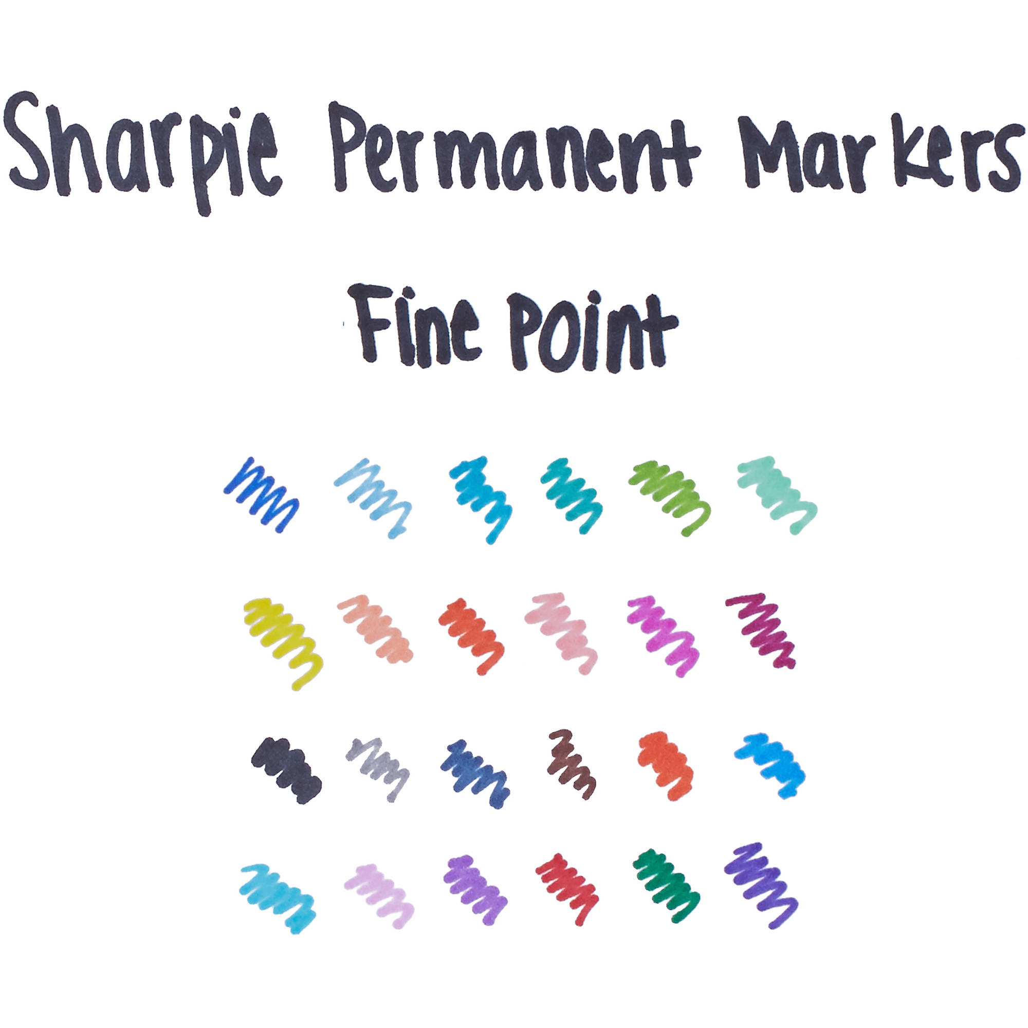 sharpie permanent markers special edition assorted 30 count