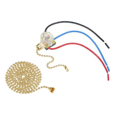 Pull Chain Switch Spdt Fan Light Switch W 100cm Extension