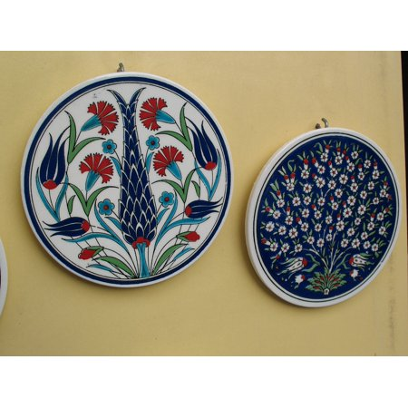LAMINATED POSTER Painting Plate Turkey Arts And Crafts Handmade Poster Print 24 x - Turkey Arts And Crafts