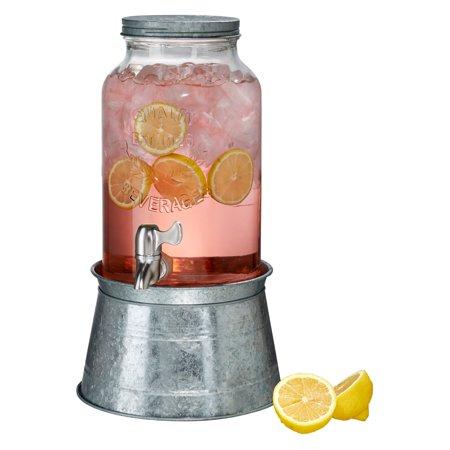 Artland Inc. Oasis Galvanized Beverage Server - 1.5 -