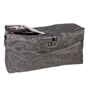 Disney Baby by J.L. Childress Single and Double Stroller Travel Bag, Grey