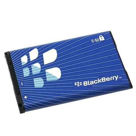 2 Packs Original OEM Battery C-S2 (Refurbished) For Blackberry Curve 8520 8530 9300 9330 Blackberry Curve Rubber Cases