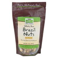 NOW Foods Brazil Nuts, Raw 12 Oz