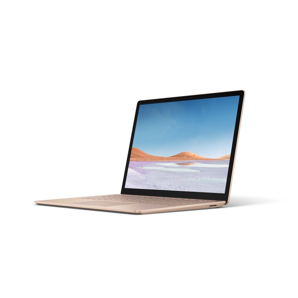 "Microsoft Surface Laptop 3, 13.5"" Touch-Screen, Intel Core i5-1035G7, 8GB Memory, 256GB SSD, Iris Plus Graphics 950, Windows 10 Home, Sandstone, V4C-00064"