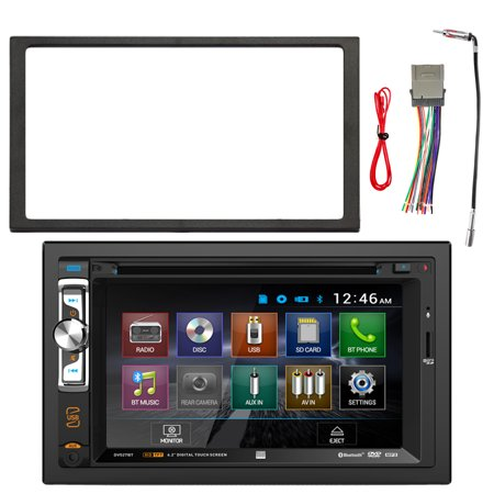 Dual av double din 62 touch screen dvd bluetooth usb receiver dual av double din 62 touch screen dvd bluetooth usb receiver enrock double din keyboard keysfo
