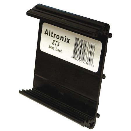 Altronix ST3 Snap Track Snap track for models: AL624, SMP3, SMP5, AL175ULB, AL176ULB, 6030, 6062 and PT724A. Altronix Accessories Power Devices