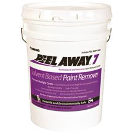 Peel Away Deck - Peel Away 7 Solvent Base Paint Remover, 5 Gallon