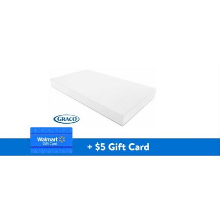FREE $5 Walmart eGift Card with Graco Premium Foam Crib and Toddler Mattress