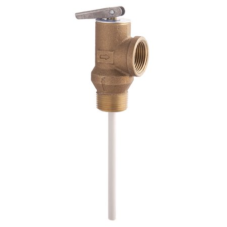 Prince Relief Valve (Watts 66100 100XL 3/4in Temperature and Pressure Relief Valve )