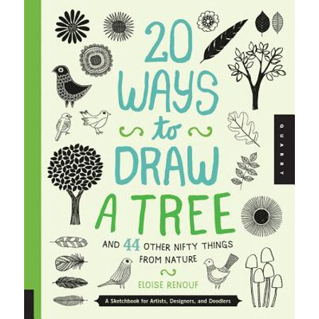 20 Ways to Draw a Tree and 44 Other Nifty Things from Nature : A Sketchbook for Artists, Designers, and Doodlers - Halloween Things To Draw