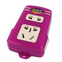 250V 10-16A Electrical Outlet Power Strip Wall Plug Socket Splitter