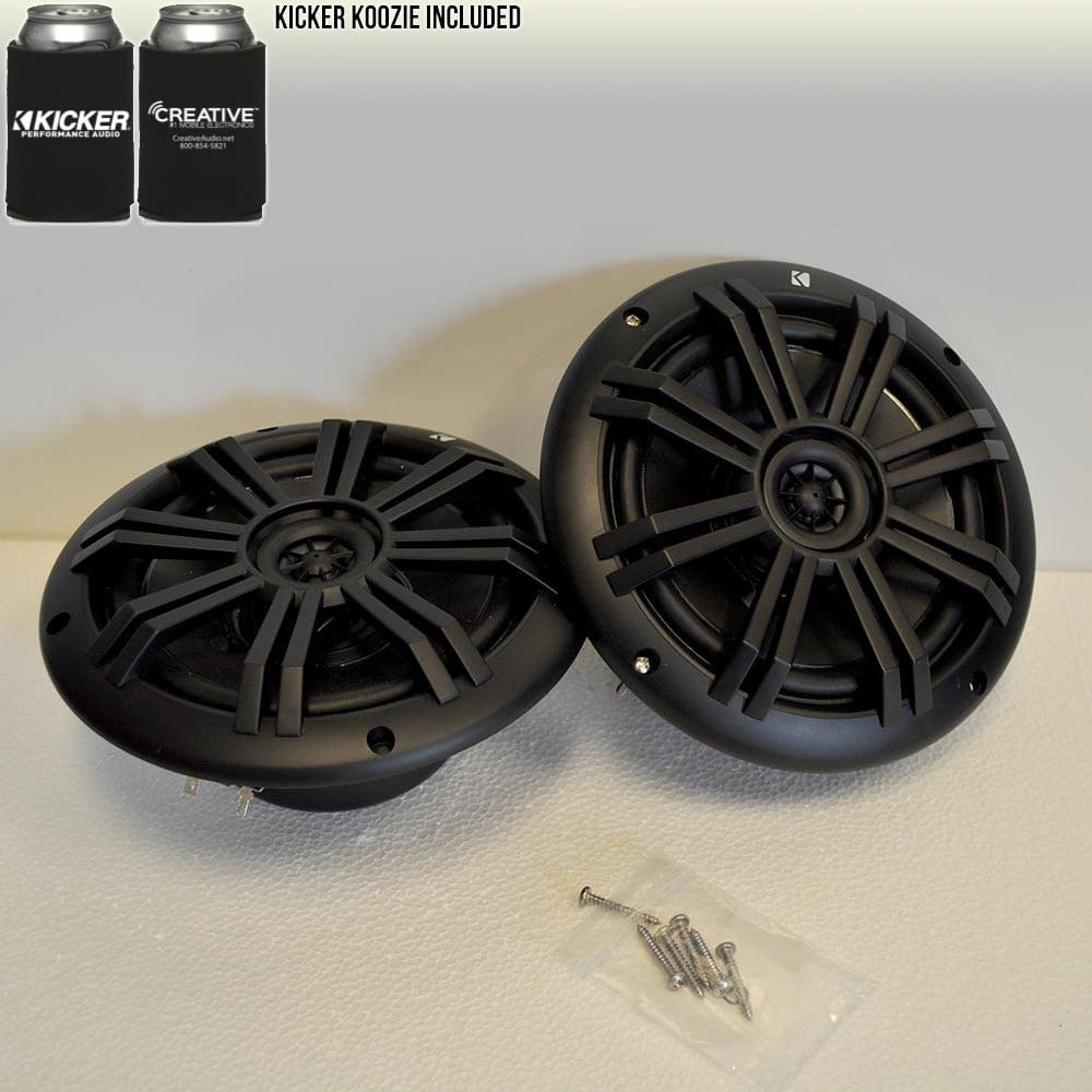"""Kicker 6.5"""" Marine Speakers (QTY 2) 1 pair of OEM replacement speakers"""