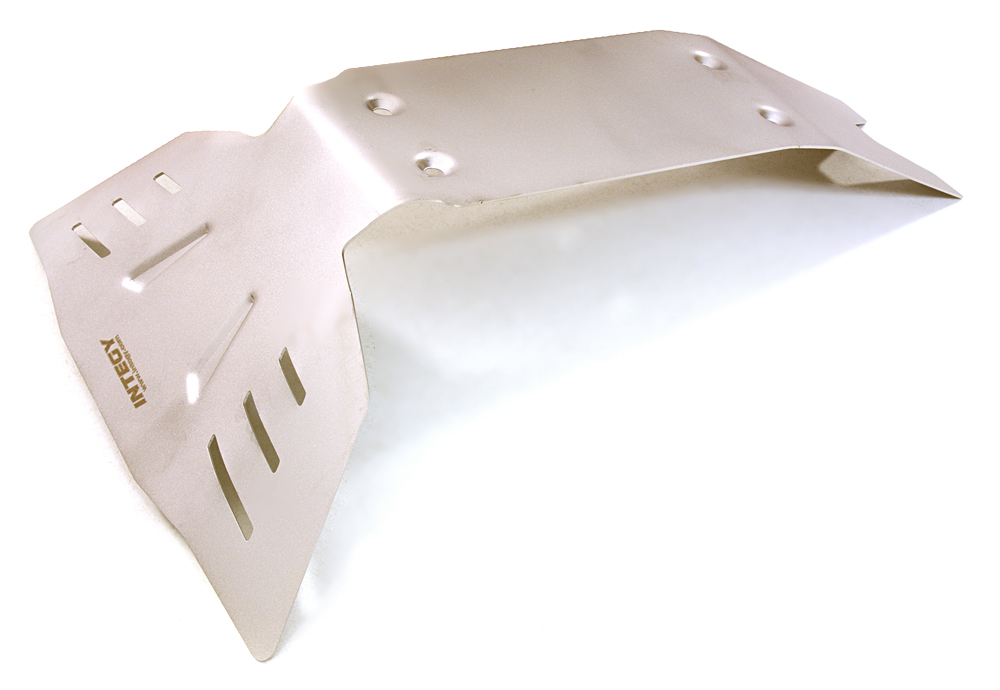 Integy RC Toy Model Hop-ups C27051 Stainless Steel Rear Protection Skid Plate for Traxxas... by Integy