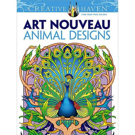 Dover Publications, Art Nouveau Animal Designs
