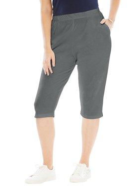 20e72156f98 Roamans Womens Plus Casual Pants - Walmart.com