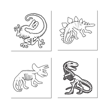 Glow in the Dark Dinosaurs Temporary Tattoos - Glow In Dark Tattoo