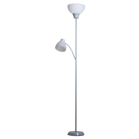 Mainstays Led Floor Lamp With Reading Light 85 Inches Height
