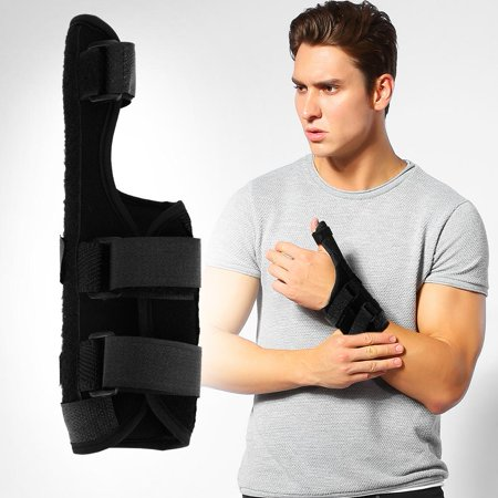 (Tbest Adjustable Breathable Wrist Brace Hand Support Fracture Ligament Injury Arm Protection Strap, Wrist Support, Hand Support)