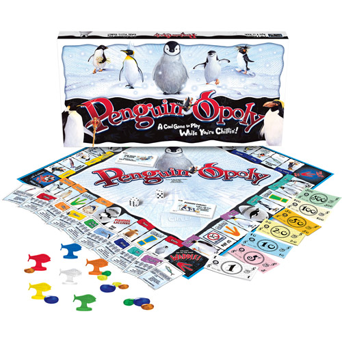 Late for the Sky Penguin-opoly Game