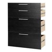 Tvilum Pierce 8042661 Prima Kit For Bookcases With 2 Drawers & 2 File Drawer