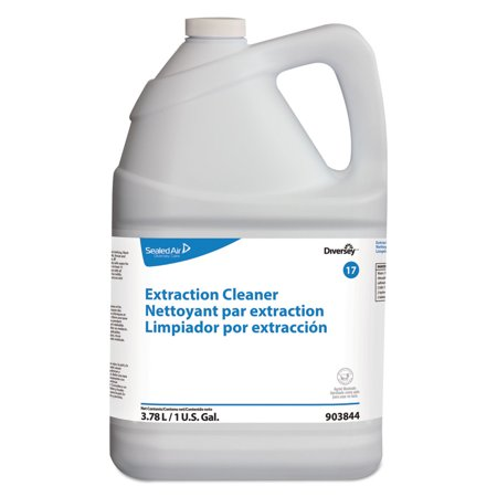 Diversey Care 903844 Carpet Extraction Cleaner, Floral Scent, Liquid, 1 Gal Container, 4/carton
