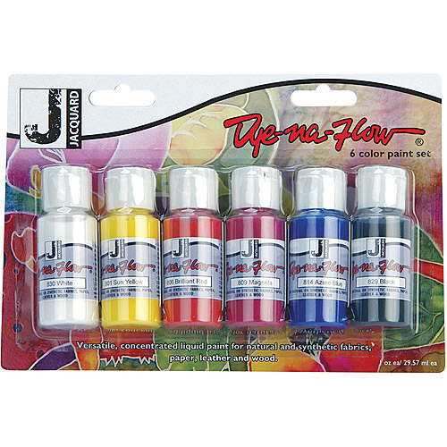 Dye-Na-Flow Paint Set, 6pk