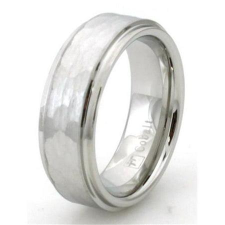 Hammered Cobalt Chrome Ring - Size 9 - image 1 of 1