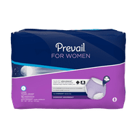 "Prevail Protective Underwear, Overnight Absorbency, Small/Medium 34"" - 46"" - Case of 72"