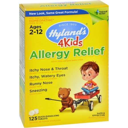 Image of Hylands Homeopathic Allergy Relief 4 Kids - 125 Tablets