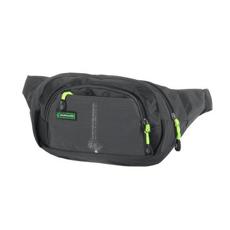 2db21065e82 Waterproof Nylon Running Belt Bulm Waist Pouch Fanny Pack Camping Sport  Hiking Zip Bags Multi-functional Belt Zipper Pouch Adjustable Strap Belt  Pouch ...