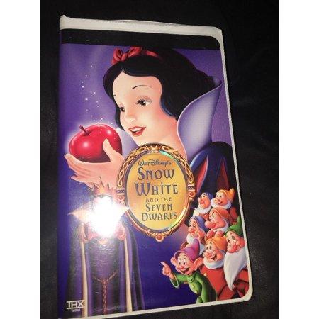 Walt Disney's Snow White and the Seven Dwarfs VHS Platinum Edition