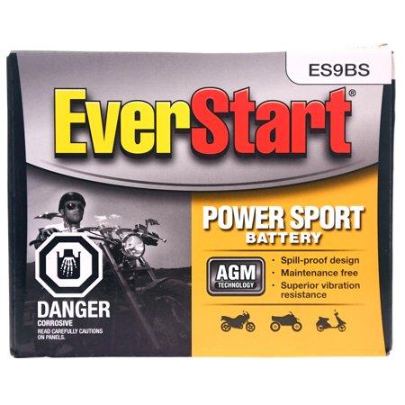 EverStart Power Sport Battery, ES9BS